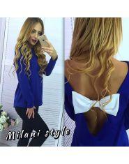 Блуза с открытой спиной